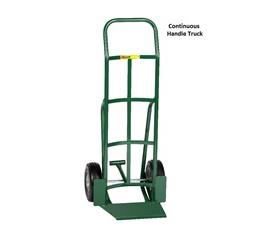 SHOVEL NOSE HAND TRUCK WITH PATENTED FOOT KICK